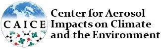 Caice: Center for Aerosol Impacts on Climate and the Environment