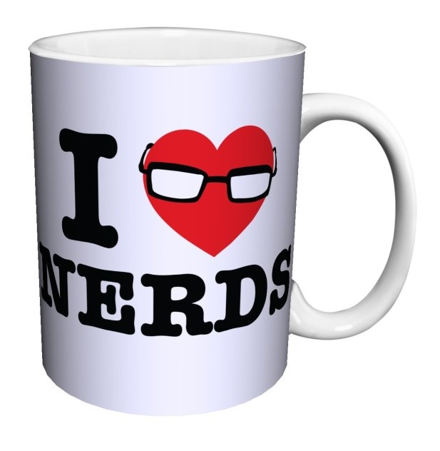 I Love Nerds Mug