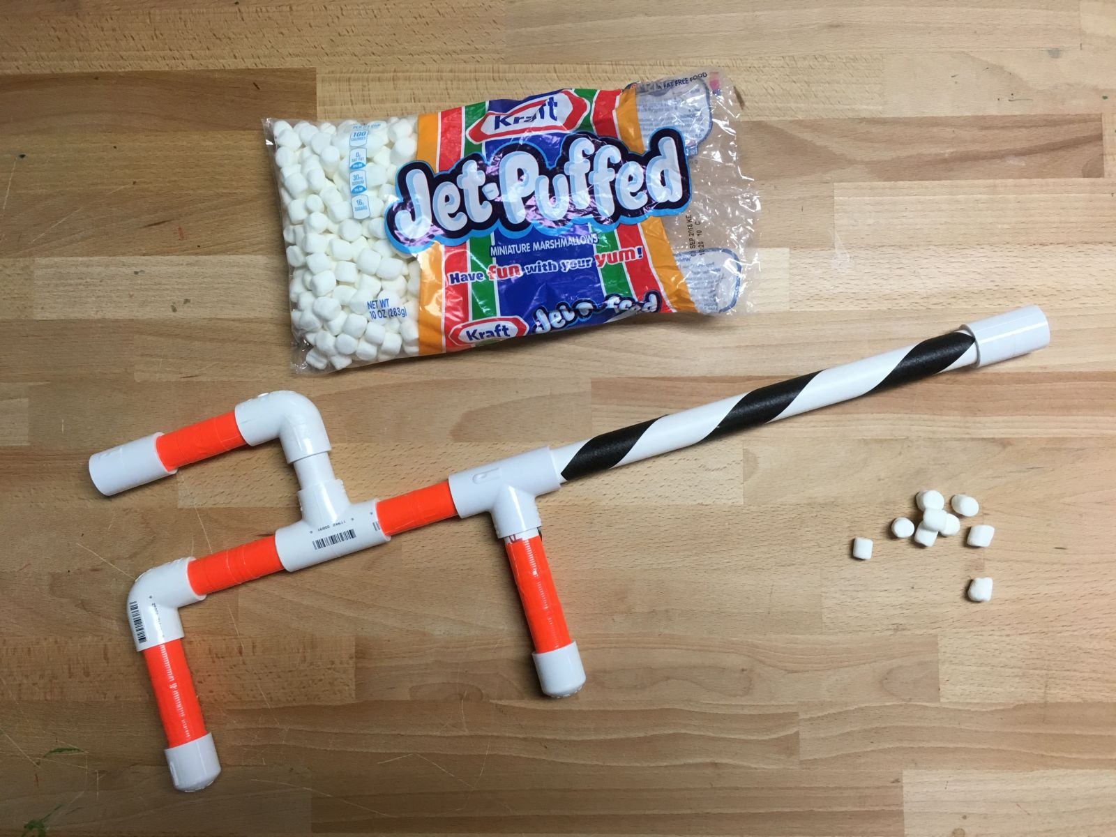 Make-It Workshop Marshmallow Shooter