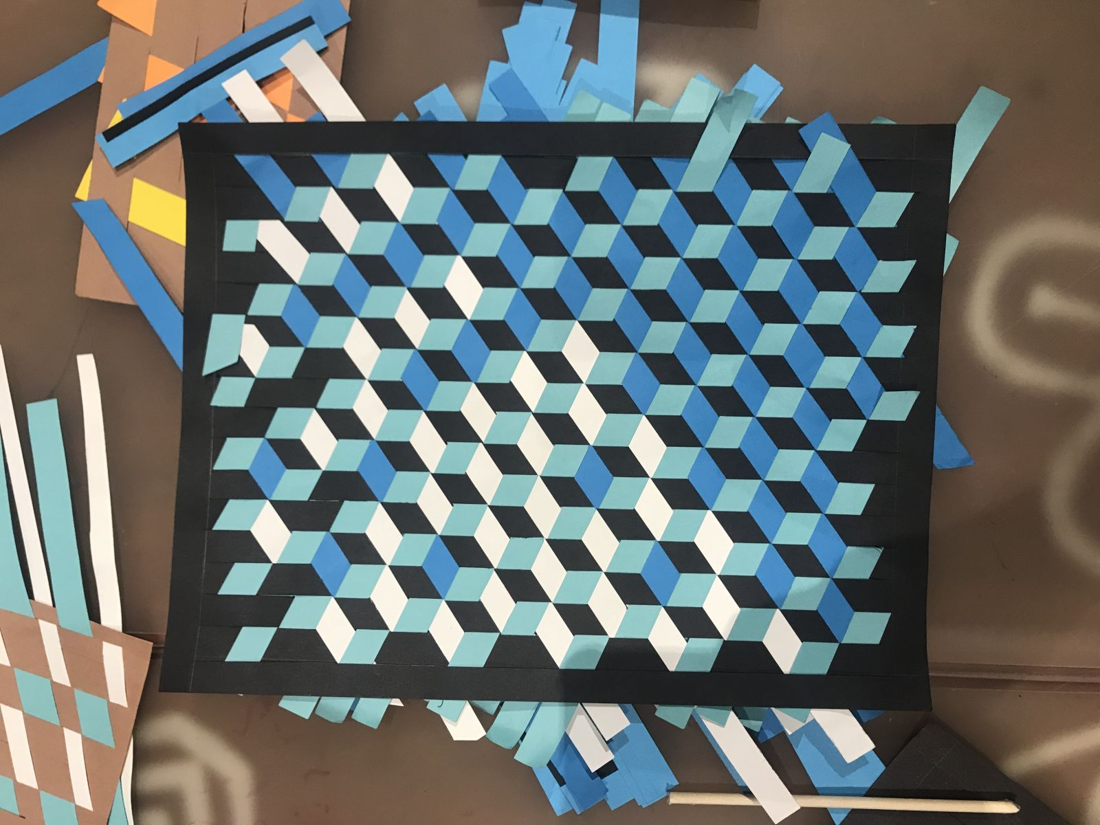 Make It Workshop Paper Weaving