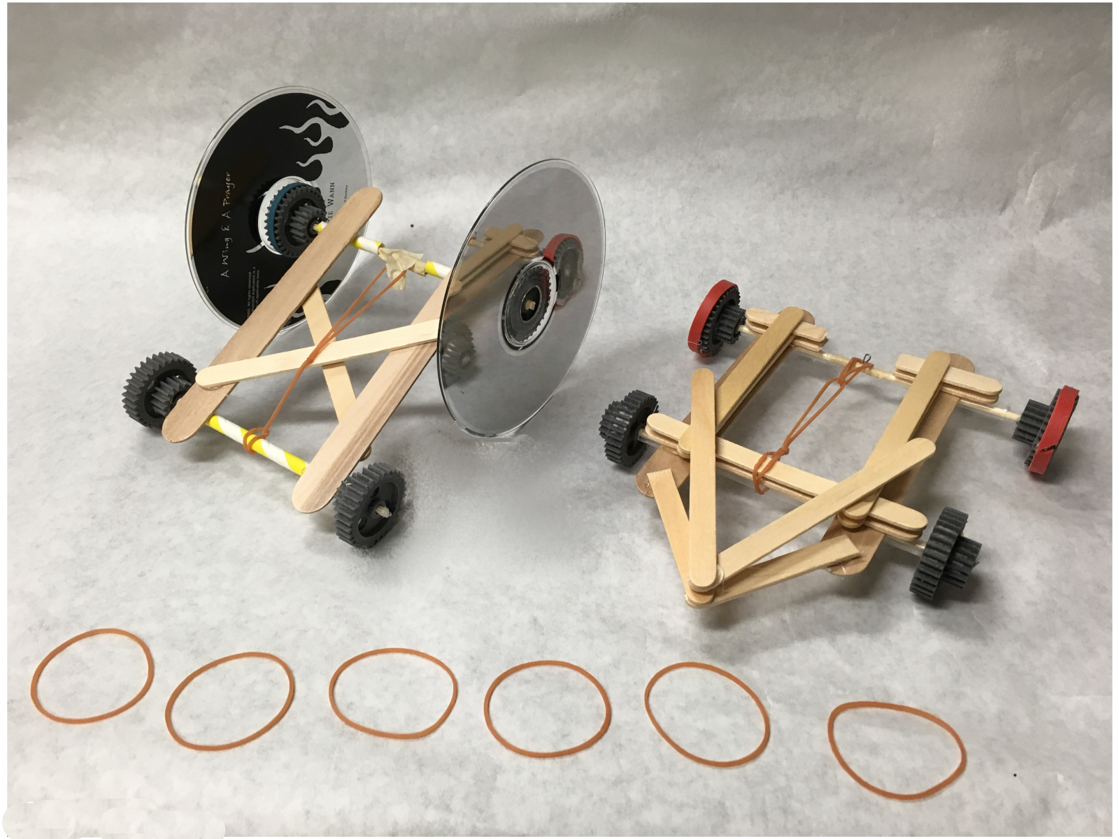 Make-It Rubber Band Car