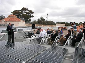 Solar Panels at the Fleet