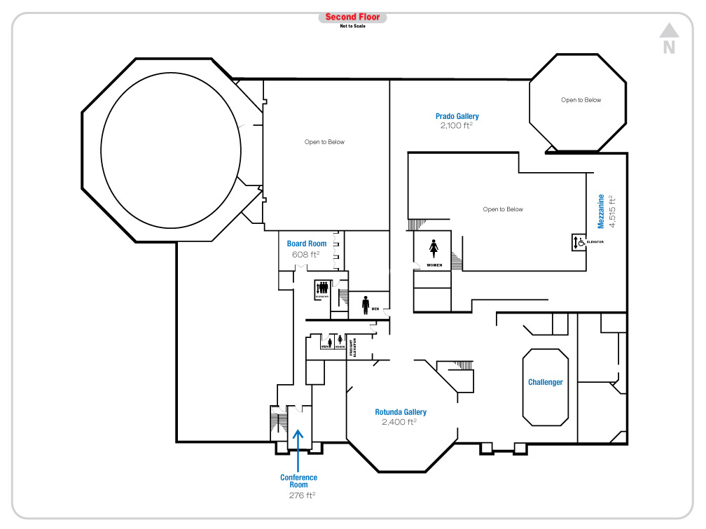 Floor Plan | Fleet Science Center - San Diego, CA