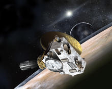 The New Horizons Spacecraft will fly by Pluto on July 14, 2015.
