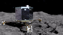 Artist conception of the Philae lander