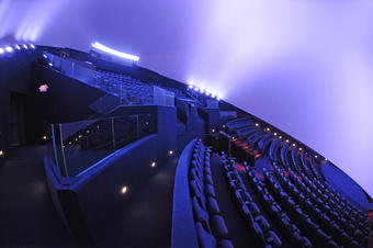 Heikoff Giant Dome Theater cool lights
