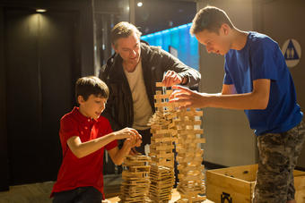 Blockbusters at the Fleet Science Center