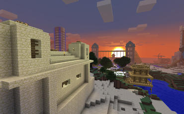 Image from Minecraft, courtesy of Mojang
