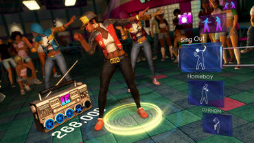 "Image from Dance Central 2: ""©2011 Harmonix Music Systems, Inc. All rights reserved."""