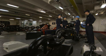 Aircraft Carrier: Anchor Room