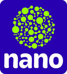 """NANO—Imagine and Discover a World You Can't See!"" logo"