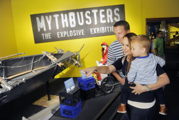 MythBusters: The Explosive Exhibition