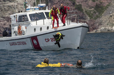 Discover how a Newfoundland can swim for miles and tow up to 40 times her own weight in water. And see how Reef helps other dogs develop their innate rescue instinct to save human lives.