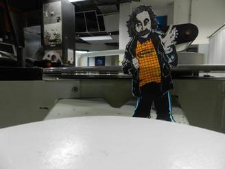 #FlatAlbert investigates the projection room