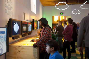 Designers such as Jakub Dvorsky and thatgamecompany are featured in the Indies section of Game Masters. Photo courtesy of ACMI (Australian Centre for the Moving Image).
