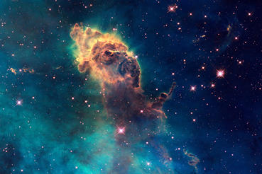 A stellar jet in the Carina Nebula