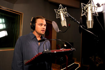 Three-time Academy-Award® nominee Leonardo DiCaprio records narration for HUBBLE.