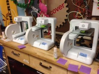 3D printers, ready for projects