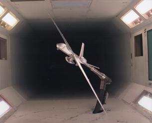 Predator in San Diego Wind Tunnel