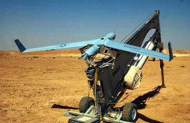 ScanEagle UAV catapult launcher