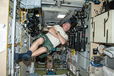 IMAX® film A Beautiful Planet – Onboard the International Space Station (ISS) – NASA Commander Barry (Butch) Wilmore enjoys Zero-G. © 2016 IMAX Corporation Photo courtesy NASA From IMAX Entertainment and director Toni Myers and narrated by Jennifer Lawrence, A Beautiful Planet is a stunning glimpse of Earth from space, bringing a heightened awareness of our planet—and the effects of humanity over time—as never seen before. © 2016 IMAX Corporation.
