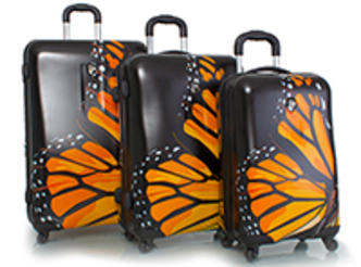 First Place prize: Heys Monarch Spinner 3-Piece Luggage set