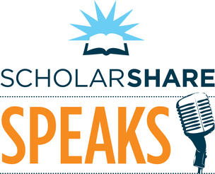 ScholarShare Speaks logo