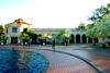 The Reuben H. Fleet Science Center exterior in a beautiful evening in Balboa Park